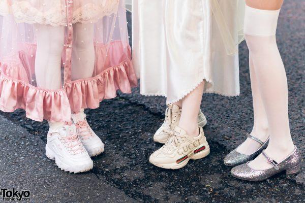 Vintage Inspired Sheer Pastel Harajuku Street Styles w/ Pink Hair, Etsuna Otsuka Fashion, Handmade Items, DonDonDown, RoseMarie Seoir & Theatre Products 10
