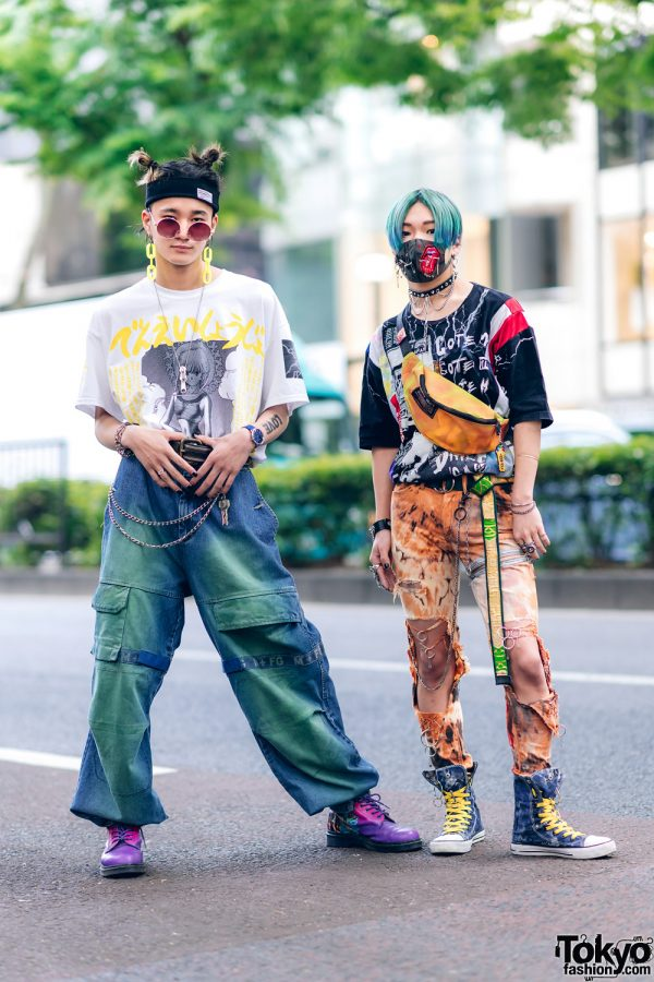 Harajuku Guys Street Styles w/ Aqua Hair, Marithe + Francois Girbaud, Cote Mer, Flagstaff, Hygge Watches & New Order x Dr. Martens 2