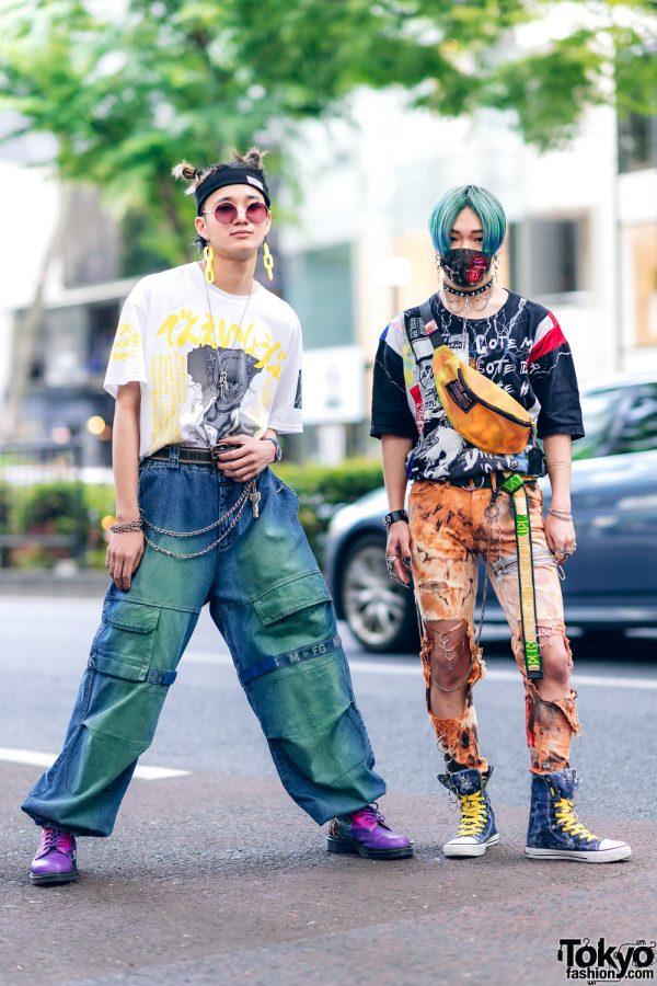 Harajuku Guys Street Styles w/ Aqua Hair, Marithe + Francois Girbaud, Cote Mer, Flagstaff, Hygge Watches & New Order x Dr. Martens 3
