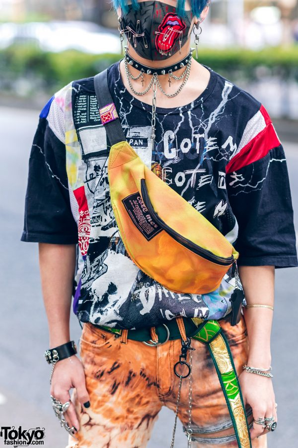 Harajuku Guys Street Styles w/ Aqua Hair, Marithe + Francois Girbaud, Cote Mer, Flagstaff, Hygge Watches & New Order x Dr. Martens 16