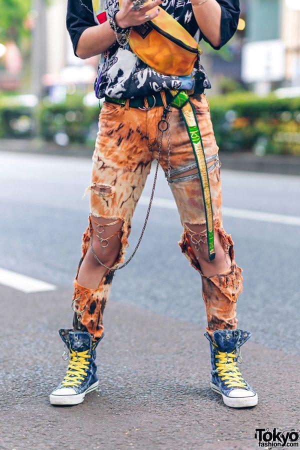 Harajuku Guys Street Styles w/ Aqua Hair, Marithe + Francois Girbaud, Cote Mer, Flagstaff, Hygge Watches & New Order x Dr. Martens 14