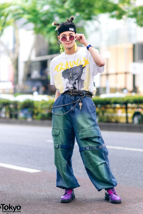 Harajuku Guys Street Styles w/ Aqua Hair, Marithe + Francois Girbaud, Cote Mer, Flagstaff, Hygge Watches & New Order x Dr. Martens 5