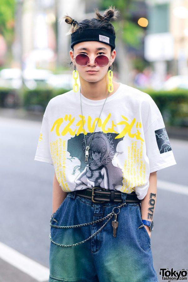 Harajuku Guys Street Styles w/ Aqua Hair, Marithe + Francois Girbaud, Cote Mer, Flagstaff, Hygge Watches & New Order x Dr. Martens 6