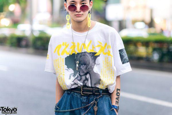 Harajuku Guys Street Styles w/ Aqua Hair, Marithe + Francois Girbaud, Cote Mer, Flagstaff, Hygge Watches & New Order x Dr. Martens 7