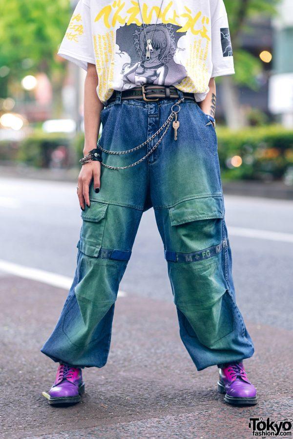 Harajuku Guys Street Styles w/ Aqua Hair, Marithe + Francois Girbaud, Cote Mer, Flagstaff, Hygge Watches & New Order x Dr. Martens 9
