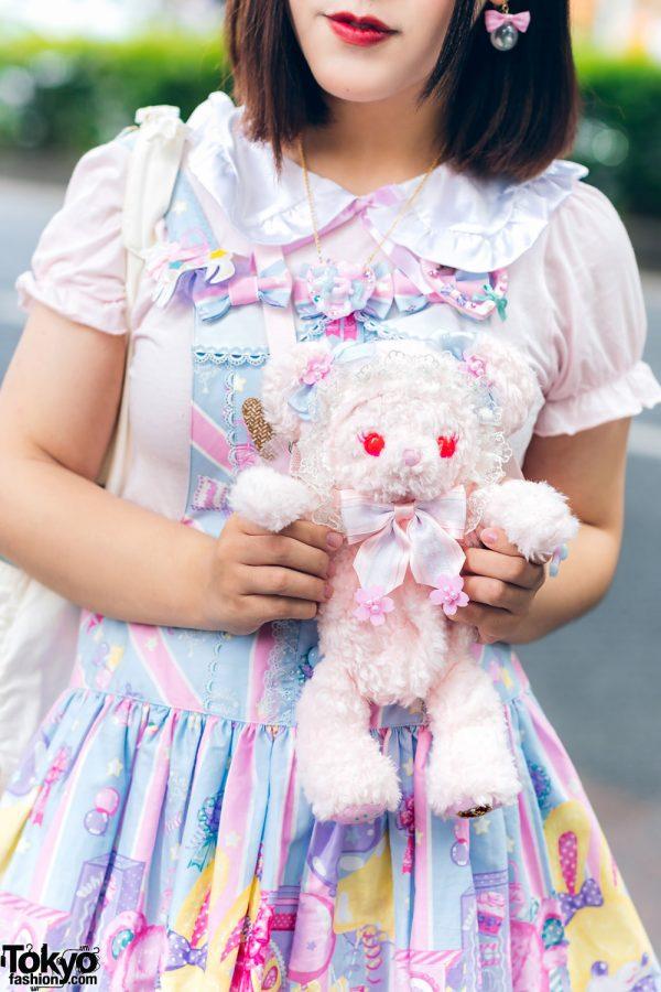 Lolita Street Fashion in Harajuku w/ Bunny Ears, Bows, Angelic Pretty, Nile Perch, Miu Miu, Nannan Special & RoseMarie Seoir 5