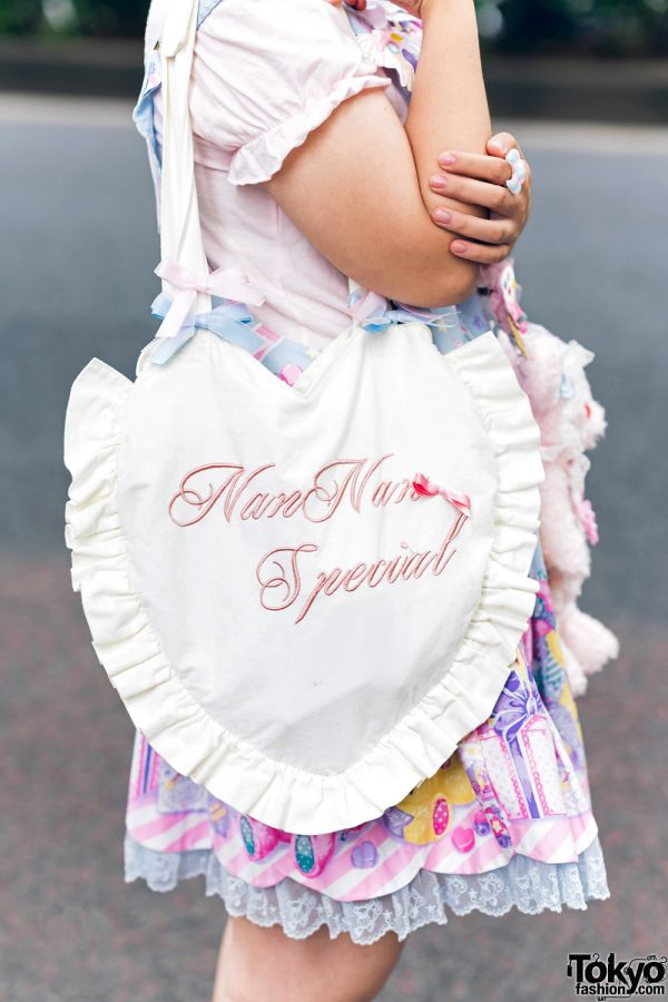 Lolita Street Fashion in Harajuku w/ Bunny Ears, Bows, Angelic Pretty, Nile Perch, Miu Miu, Nannan Special & RoseMarie Seoir 6
