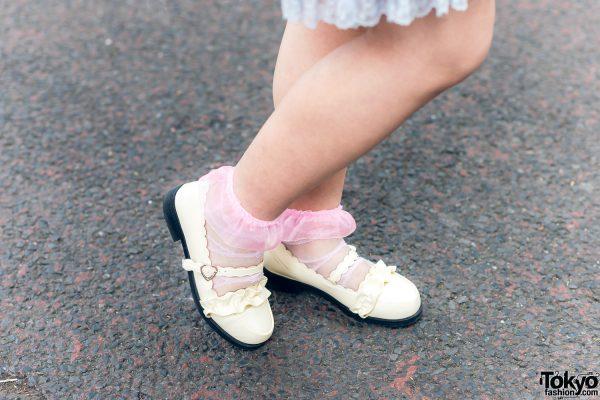 Lolita Street Fashion in Harajuku w/ Bunny Ears, Bows, Angelic Pretty, Nile Perch, Miu Miu, Nannan Special & RoseMarie Seoir 7