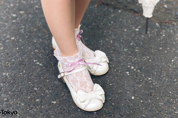 Lolita Street Fashion in Harajuku w/ Bunny Ears, Bows, Angelic Pretty, Nile Perch, Miu Miu, Nannan Special & RoseMarie Seoir 16