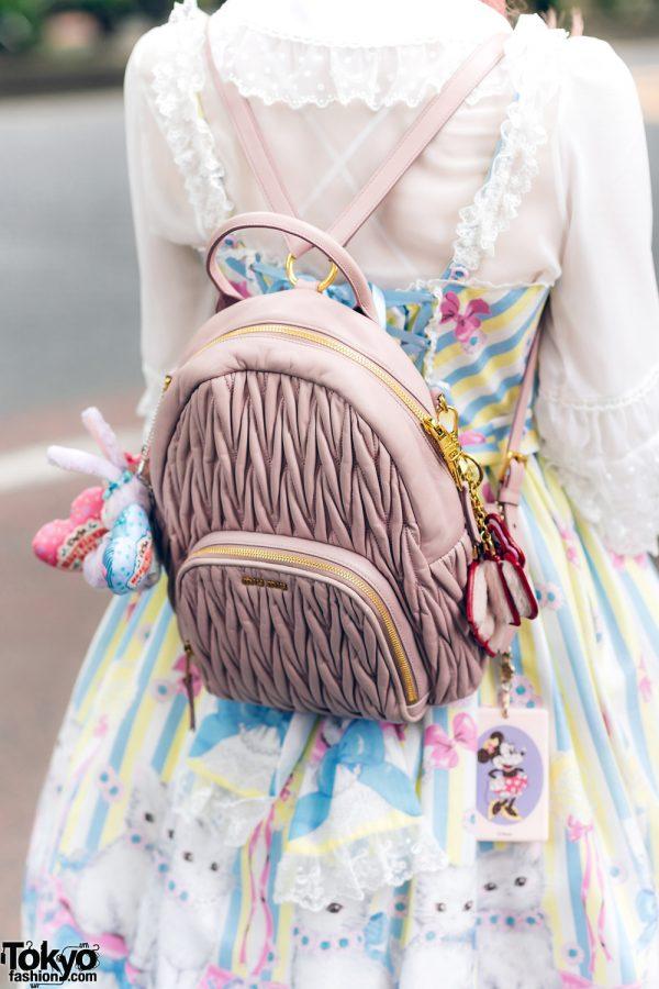 Lolita Street Fashion in Harajuku w/ Bunny Ears, Bows, Angelic Pretty, Nile Perch, Miu Miu, Nannan Special & RoseMarie Seoir 15