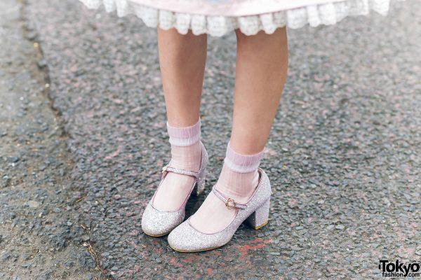 Lolita Street Fashion in Harajuku w/ Bunny Ears, Bows, Angelic Pretty, Nile Perch, Miu Miu, Nannan Special & RoseMarie Seoir 11