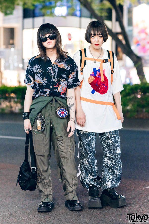 "Harajuku Streetwear Styles w/ Nirvana ""In Utero"" Tattoo, John Lawrence Sullivan, Kidill, Unverge & ESC Studio"