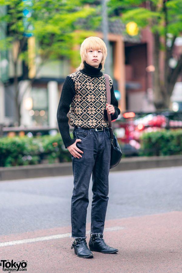 Harajuku Designer Fashion w/ D&G, Levi's, Jean Paul Gaultier & Saint Laurent