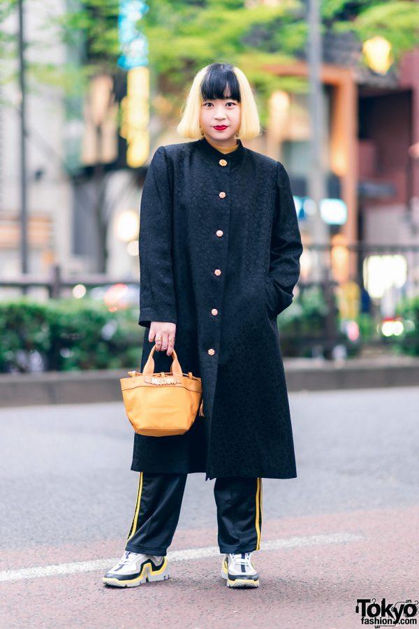 Tokyo Vintage Street Fashion w/ Moschino, Adidas & Pierre Hardy