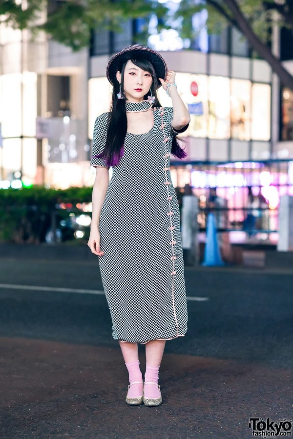 Harajuku Girl Street Style w/ Growing Pains, Emily Temple Cute, CA4LA, Avantgarde & The Ivy Tokyo