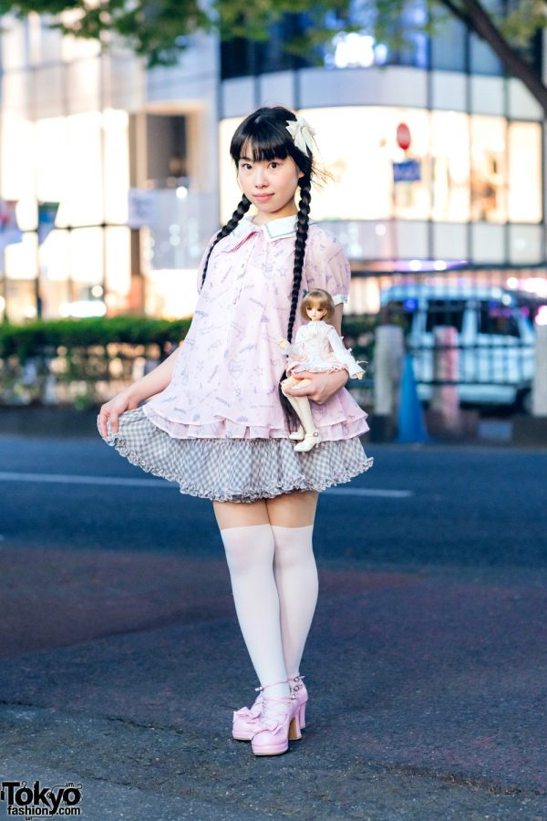 Harajuku Girl Street Style w/ Mezzo Piano, Innocent World, Super Dollfie & Baby, The Stars Shine Bright