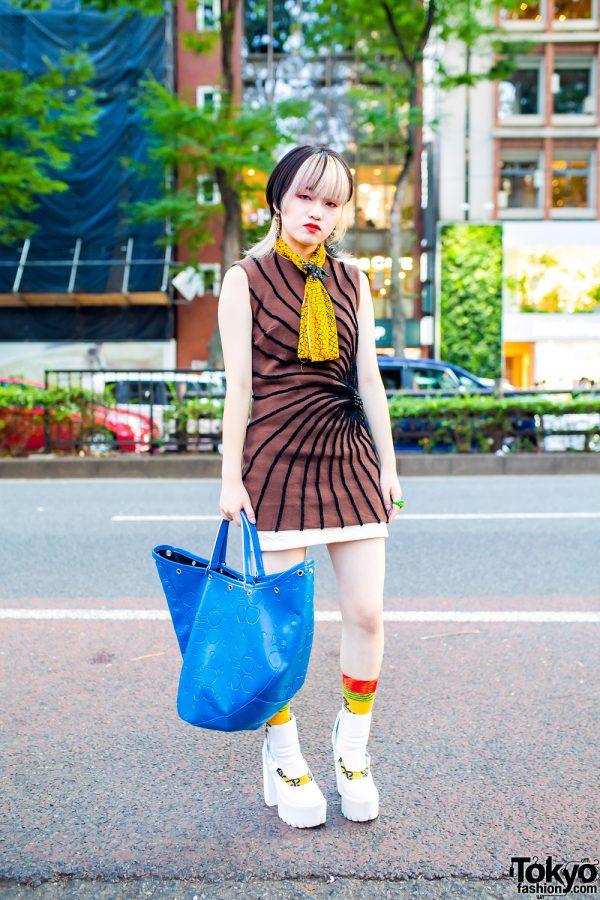 Harajuku Style w/ G2?, Comme des Garcons, Jeffrey Campbell, Vivienne Westwood, Yayoi Kusama, Izu Kobo & Handmade Earrings