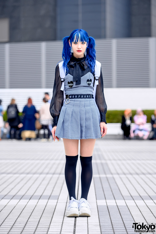 Bunka Fashion College Student Street Style w/ Morph8ne, Merry Jenny & Tokyo Bopper