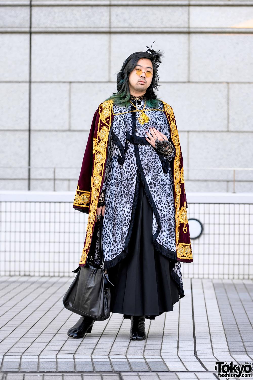 Handmade Tokyo Street Style at Bunka Fashion College w/ Yohji Yamamoto, Margiela & Vivienne Westwood