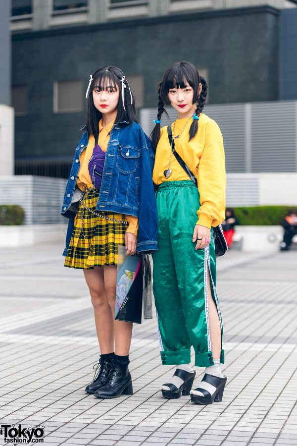 Shinjuku Teen Street Styles w/ WEGO, Kinji, Oh Pearl, (Me), Thank You Mart, Shimamura & Vintage Fashion