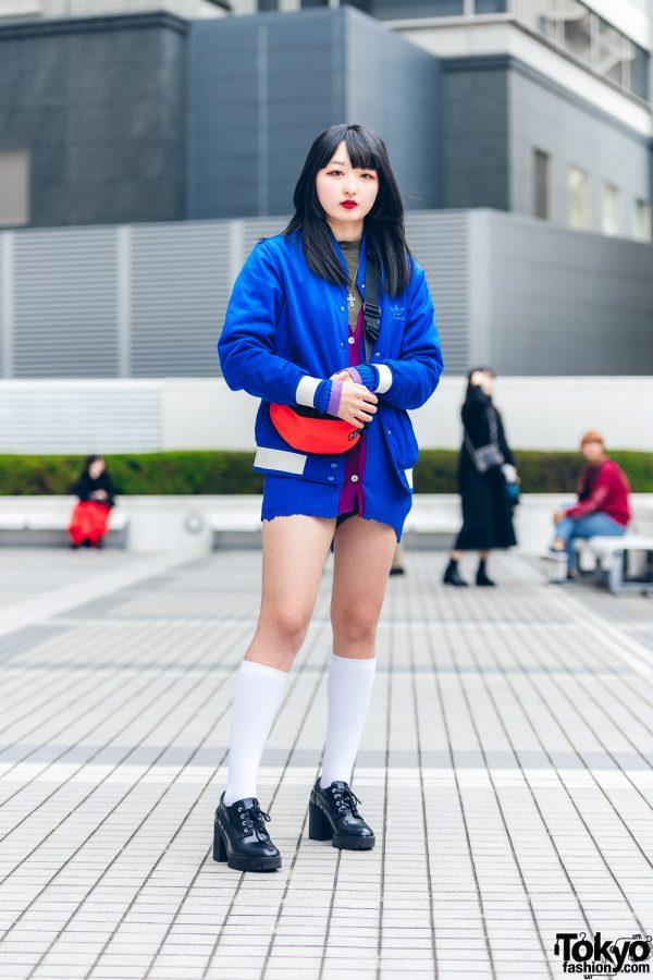 Bunka Fashion College Street Style w/ Adidas & Zara
