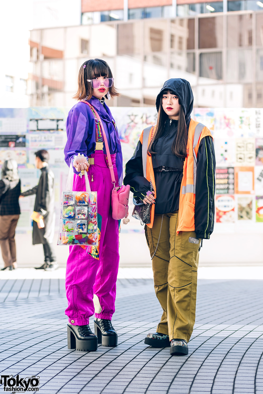 \Teen Street Styles in Shinjuku w/ RRR Shop, Skipper, Gallerie, Never Mind the XU, (Me) & Yosuke