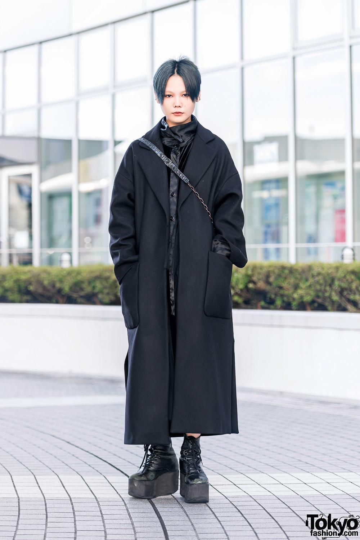 All Black Street Fashion w/ Vivienne Westwood, Zara, H&M, Ego & Tokyo Bopper
