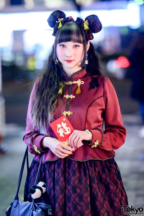 Chinese New Year Inspired Japanese Lolita Fashion by