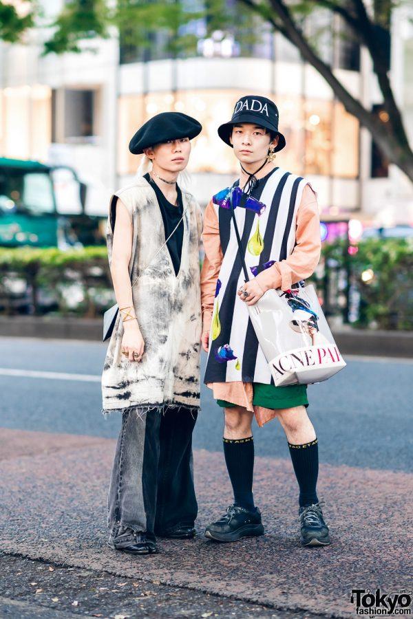 Harajuku Streetwear Fashion w/ Rick Owens, Christian Dada, Maison Margiela, Raf Simons, Bed J.W. Ford, Facetasm, Acne Studios, Eytys & Remake