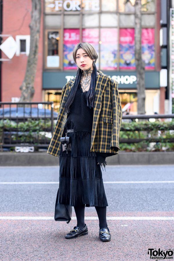 Japanese Tattoo Model in Harajuku w/ Never Mind The XU, Beep, Rosen Kreuz & Open The Door