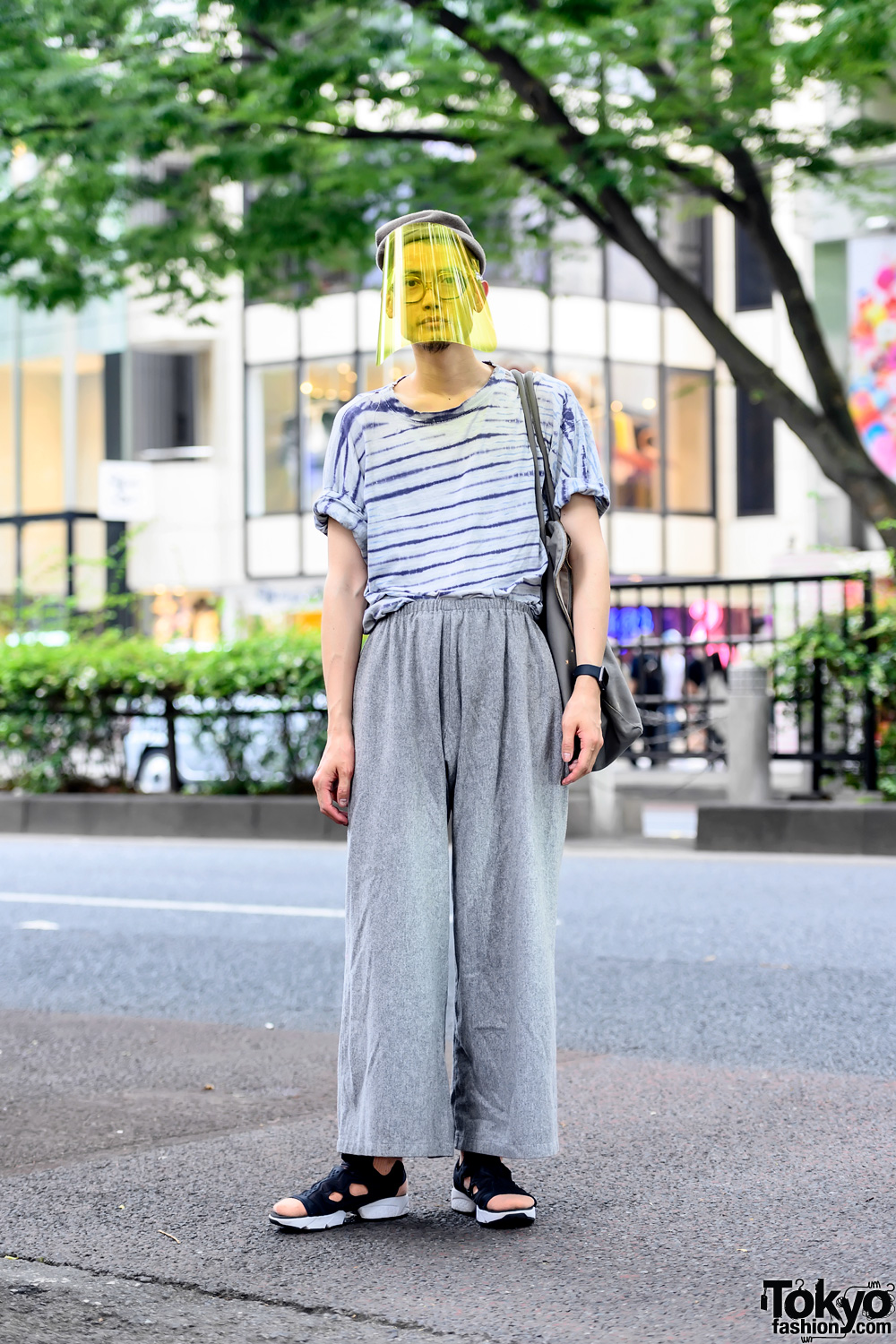 Face Shield & Sokkyou Vintage Fashion in Harajuku