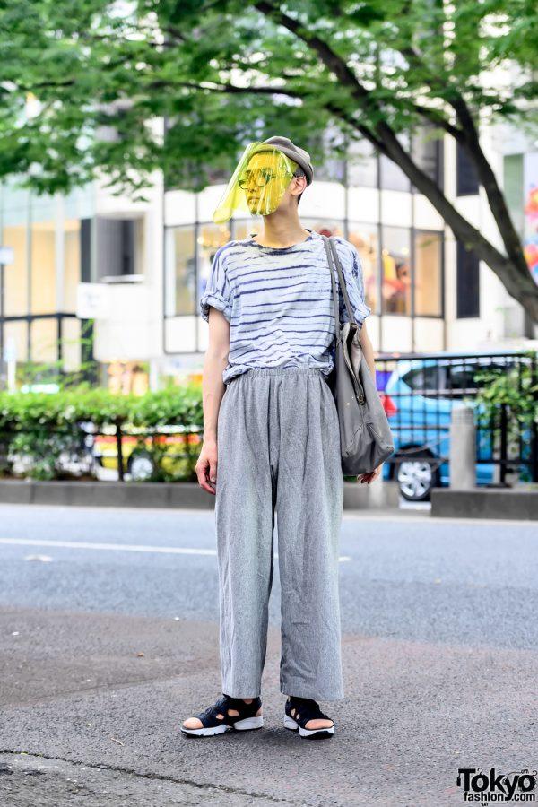 Protective Visor Harajuku Street Style