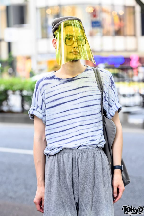 Coronavirus Street Fashion in Tokyo