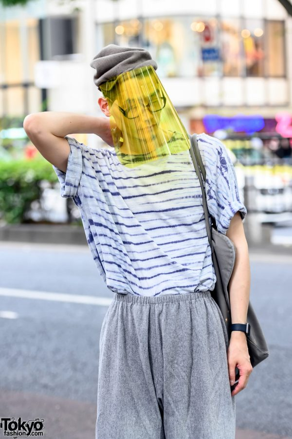 Protective Face Shield Japanese Street Style