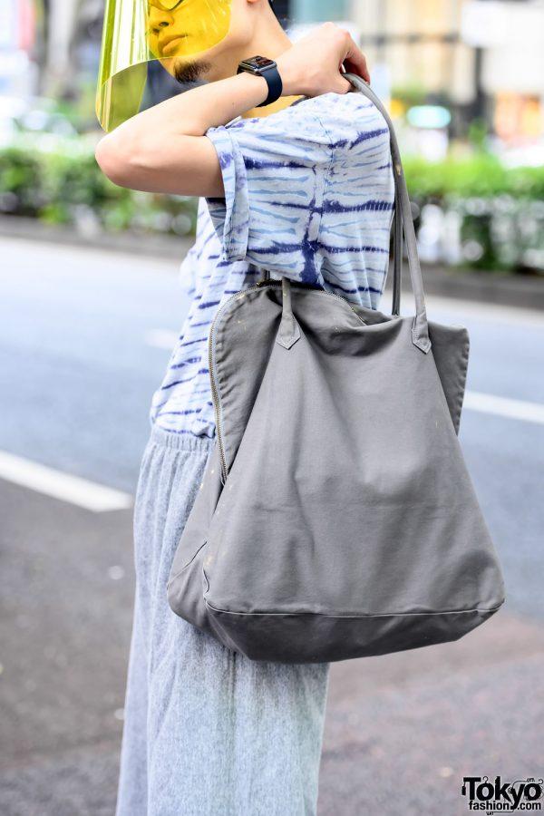 Vintage Minimalist Tote Bag in Harajuku