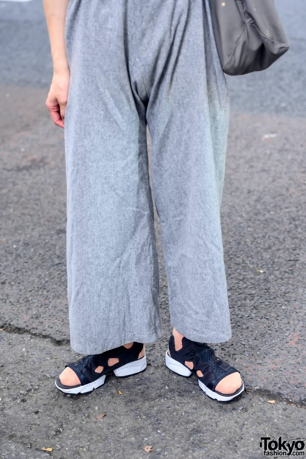 Sokkyou Vintage Pants & Reebok Sandals
