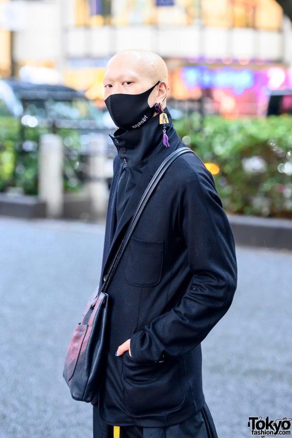 Bizenart Face Mask & Yohji Yamamoto Fashion in Tokyo