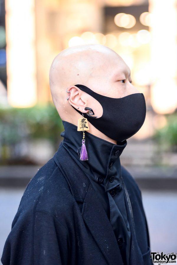 Face Mask in Tokyo, Japan