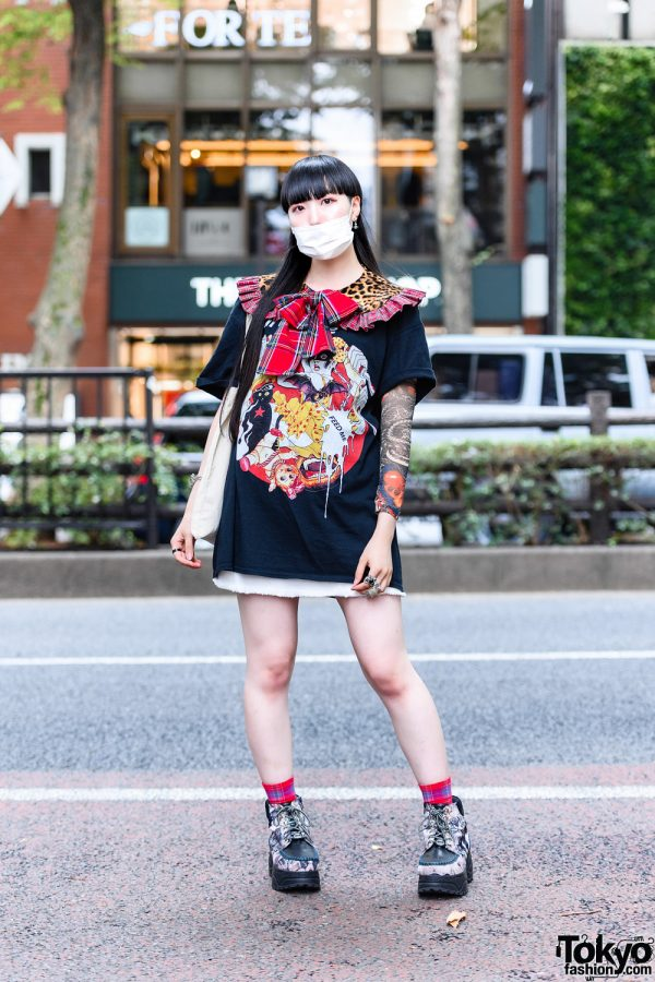 Japanese Idol Street Style w/ HEIHEI, Tattoo Sleeves, Meewee Dinkee, Vivienne Westwood, Never Mind the XU, Hysteric Glamour, Lily Rose & Yosuke