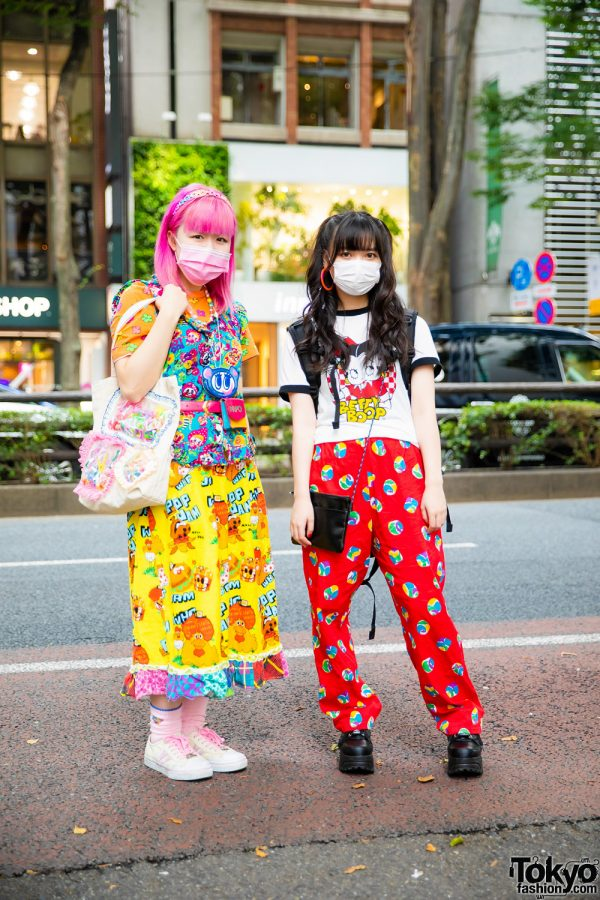 Tokyo Kawaii Styles w/ Pink Hair, Love Revolution, Kinji, Angel Blue, Daisy Lovers, Betty Boop T-Shirt, Claire's, Handmade Canvas Tote, Yosuke & Skechers Sneakers