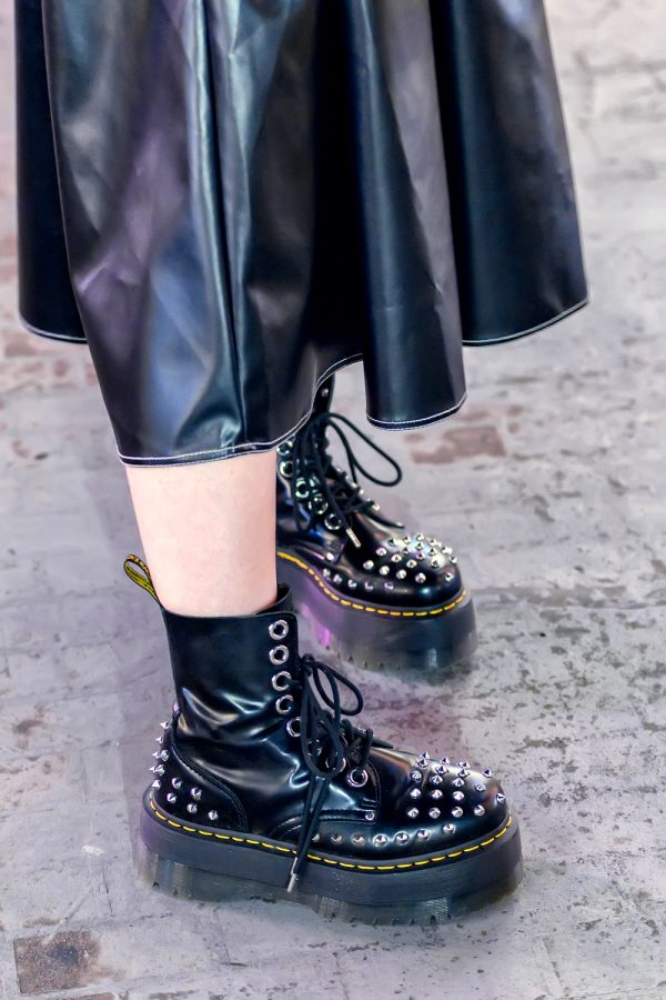 Spiked Dr. Martens Boots in Japan