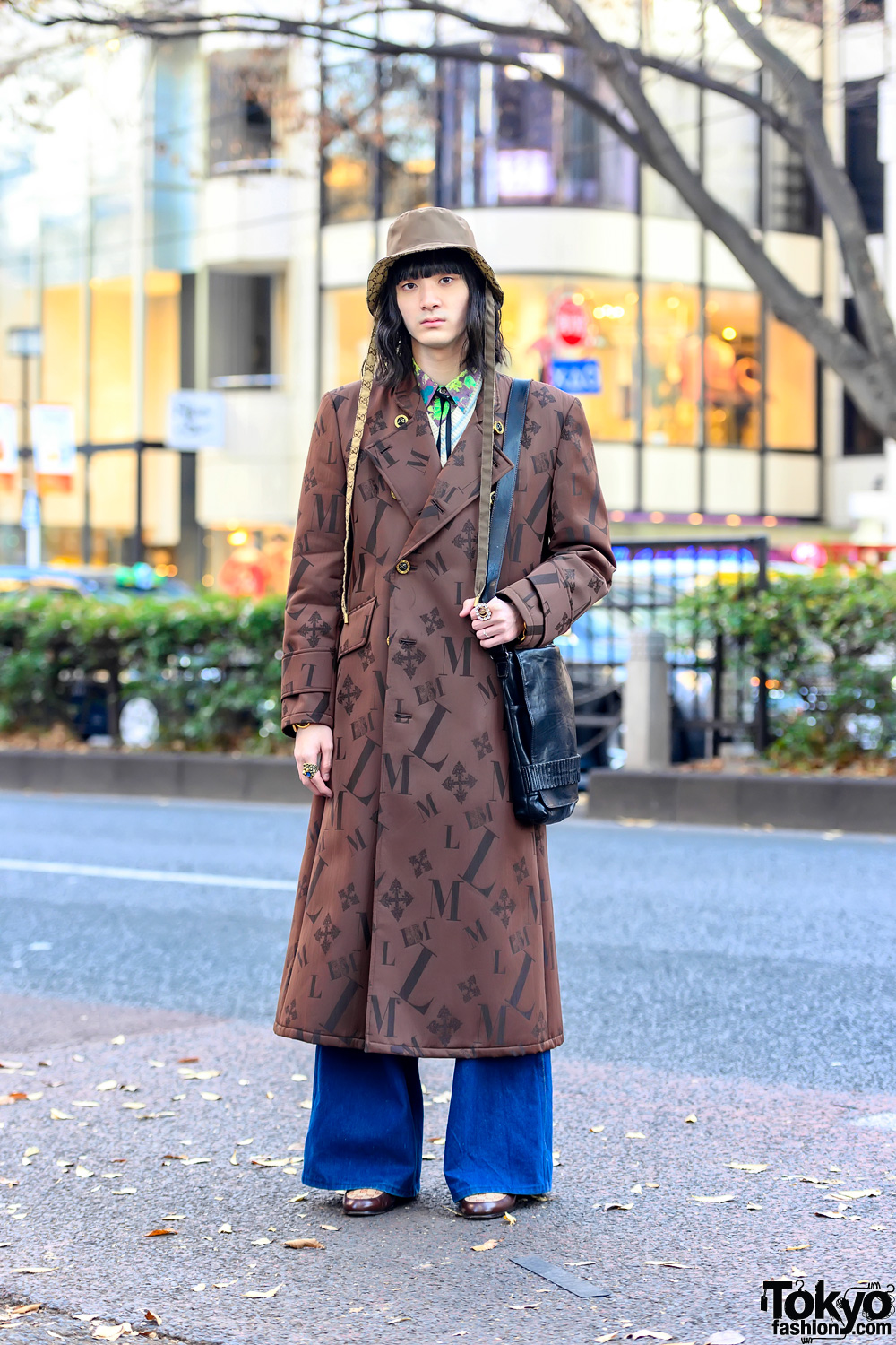 Luna Mattino Japanese Street Style in Harajuku w/ Dries Van Noten, Paul Smith & Gianfranco Ferre