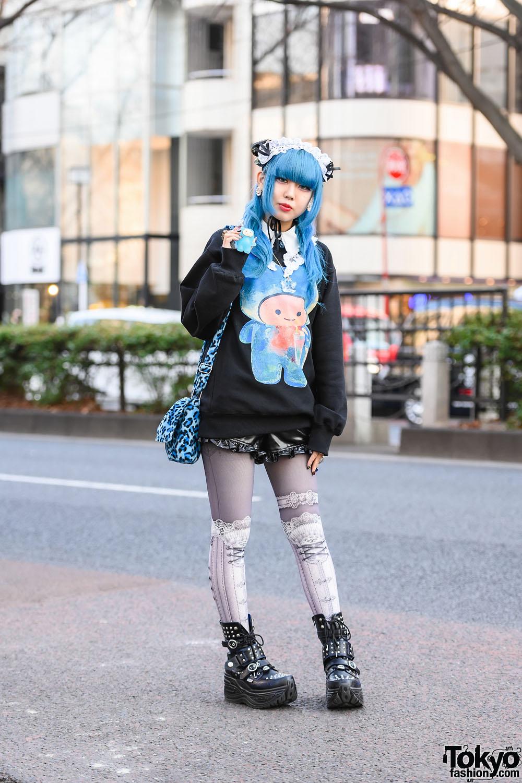 Kumadomo Kawaii Character Street Style in Harajuku w/ WC, Abilletage, Decotrand, Yubi Ga Ippon & Yosuke