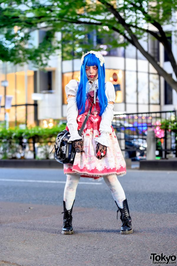 Japanese Lolita Style in Harajuku w/ Baby The Stars Shine Bright, Vivienne Westwood & Dr. Martens x Sex Pistols