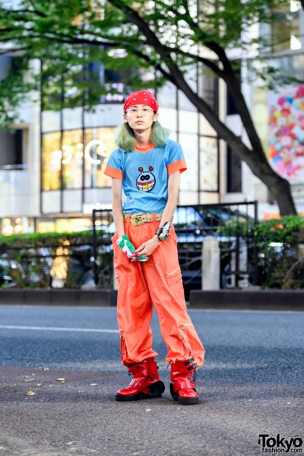 W&LT by Walter Van Beirendonck, Undercover, Gingaman & 20471120 Harajuku Street Style in Tokyo