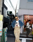 AvantGarde Harajuku Director w/ World's Tallest Mohawk