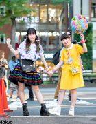 Mother Daughter Kawaii Harajuku Street Styles w/ 6%DOKIDOKI, Yosuke, Kinji & Handmade Fashion