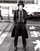 """""""Neo Classical Goth"""" Harajuku Style w/ Top Hat, Alice Auaa & Takeo Kikuchi"""