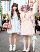 Harajuku Lolitas w/ Angelic Pretty Gingham, Cardcaptor Sakura & BTSSB