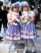 Harajuku Sweet Lolitas w/ Matching Angelic Pretty Fashion & Pony Bags